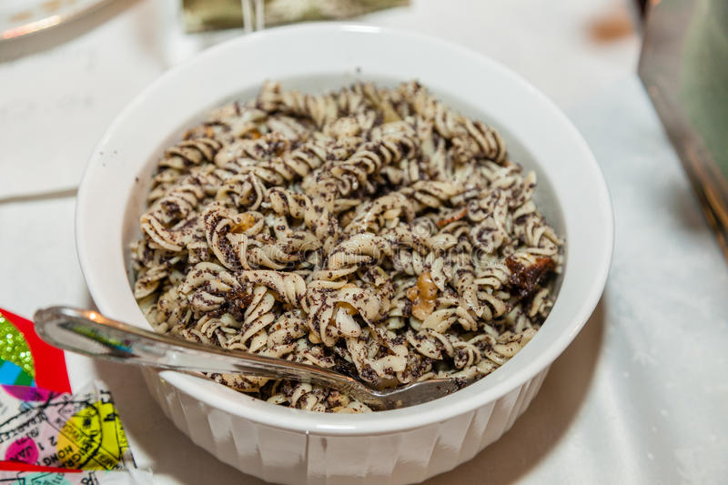 Download Polish Noodles With Poppy Seeds Stock Image - Image: 37554149