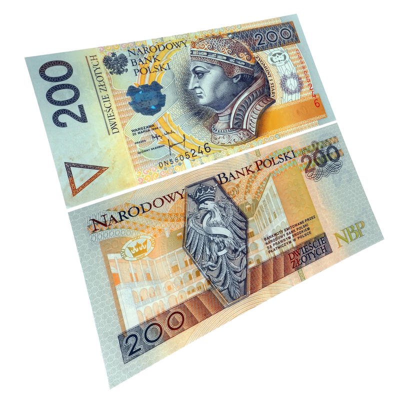 Download Polish paper currency stock image. Image of value, note - 9864713