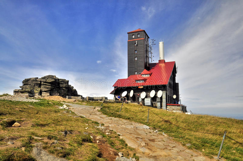 Download Polish shed stock image. Image of brook, czech, cloudy - 26485891