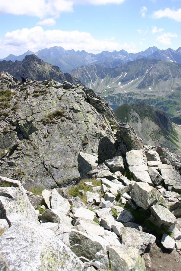 Polish Tatra Mountains stock photography