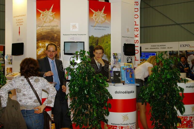 Download Polish Tourist Organisation  At TT Warsaw Editorial Stock Photo - Image: 18056368