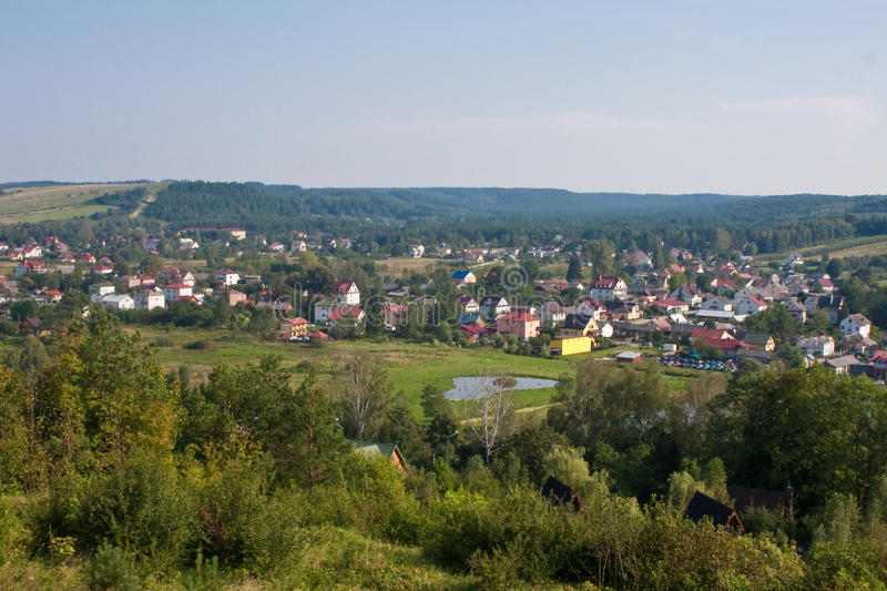 Polish Village stock photography