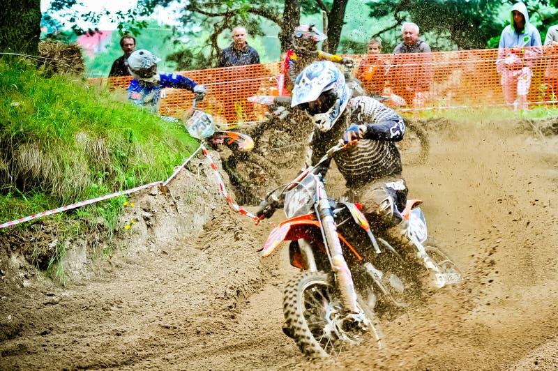 Polish Western Zone Motocross Championship Round VI Poland Editorial Photography