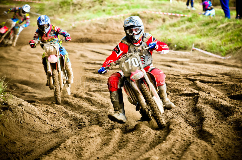 Download Polish Western Zone Motocross Championship Round VI Poland Editorial Photo - Image: 33004056