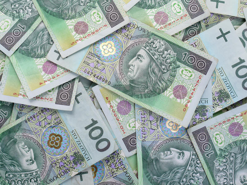 Download Polish zloty stock image. Image of finance, pile, rich - 18968325