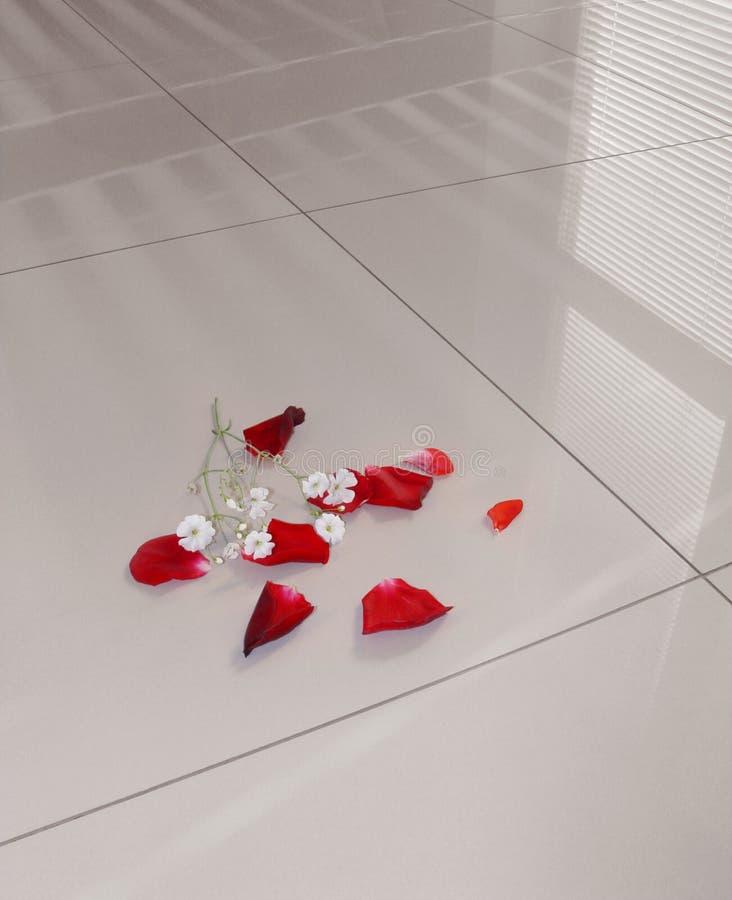Polished gress floor. Floor tiles polished porcelain tiles stock photography