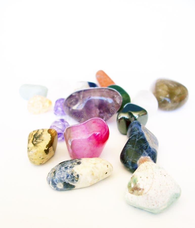 Polished Rocks or Stones royalty free stock image