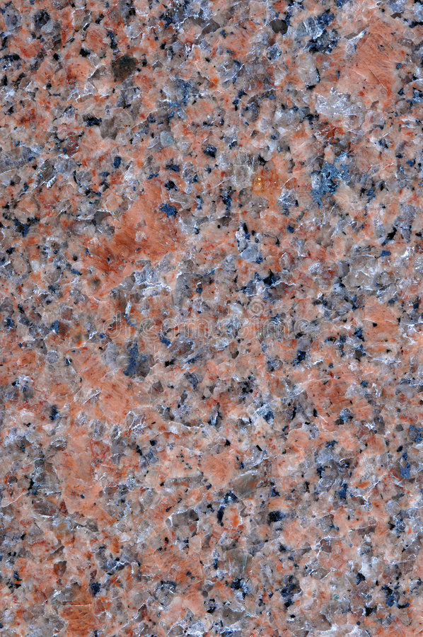 Polishing pink granite natural rock royalty free stock photos