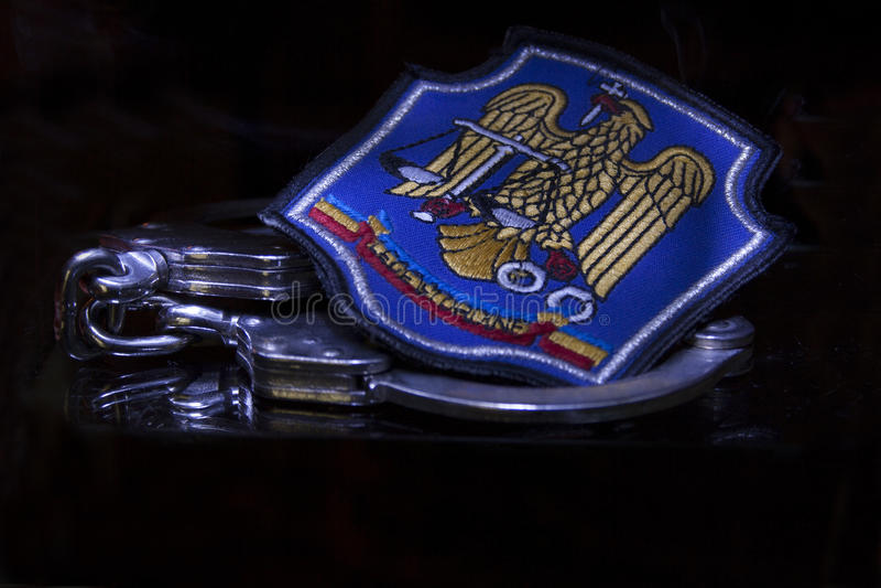 Politia d'Emblema photo libre de droits