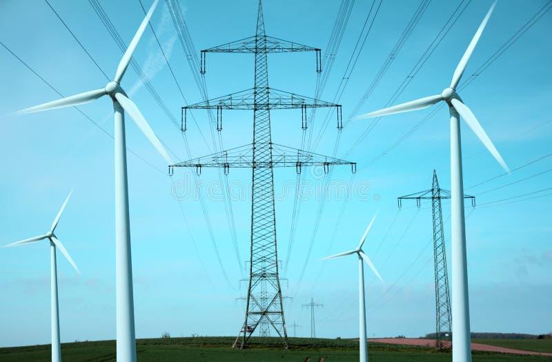 Politica energetica fotografia stock