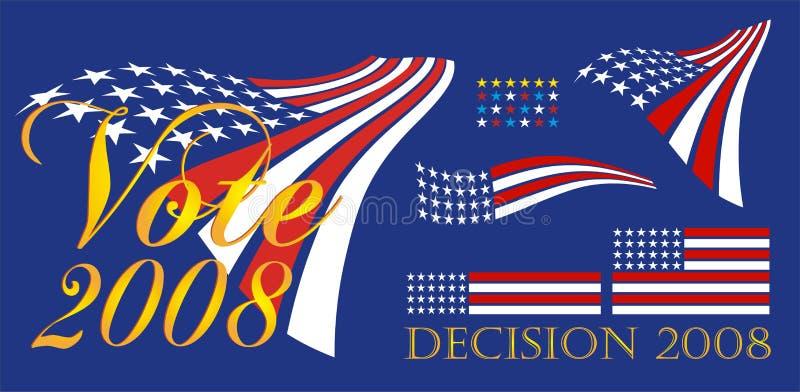 Political Bumper Sticker Royalty Free Stock Photos