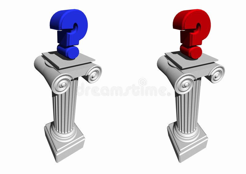 Political Choices 1 stock illustration