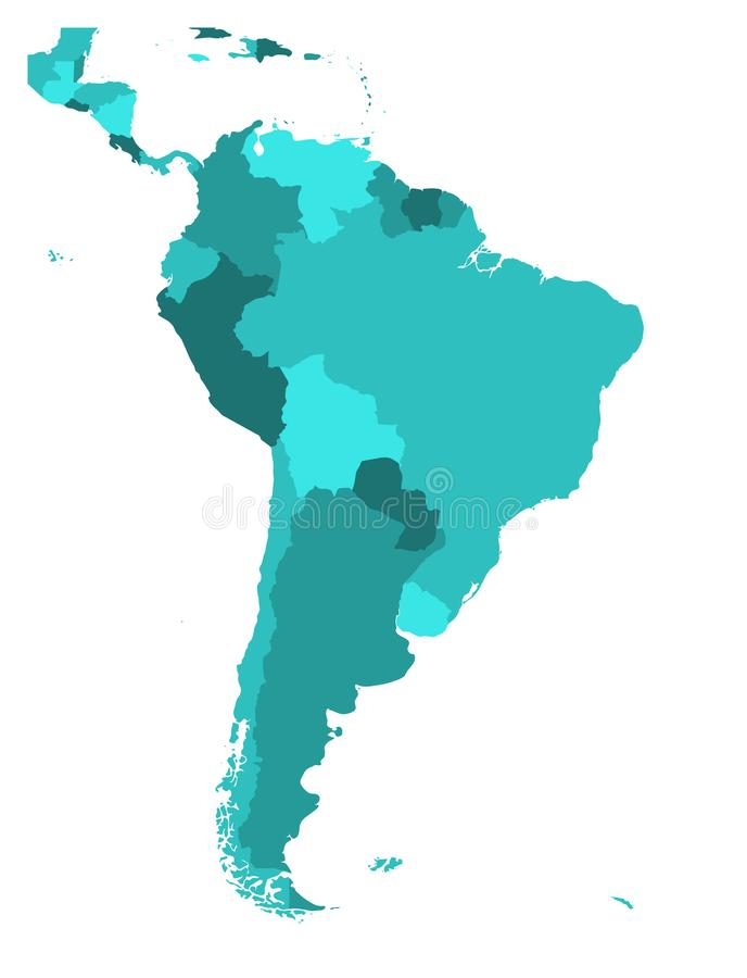 map map of south america blank