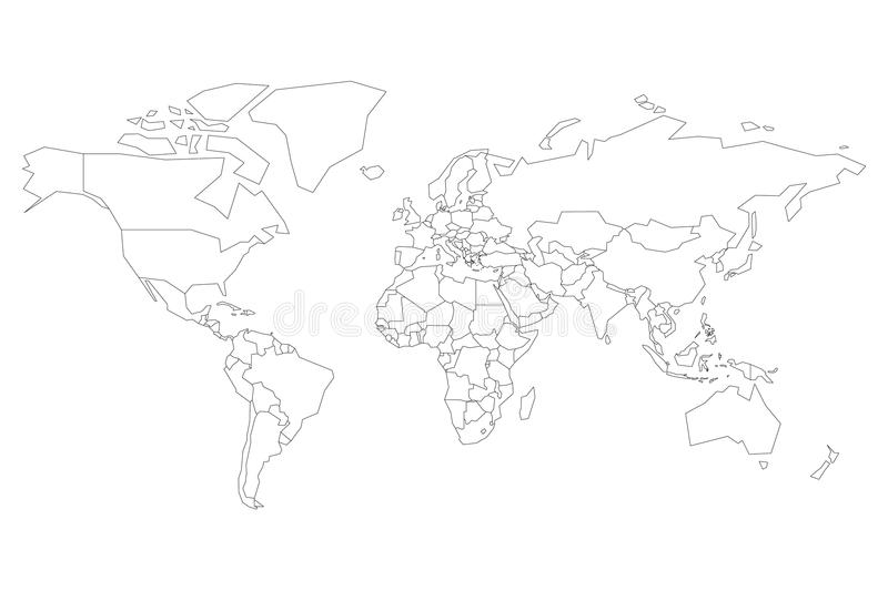Political map of world blank map for school quiz simplified black download political map of world blank map for school quiz simplified black thin outline gumiabroncs Image collections