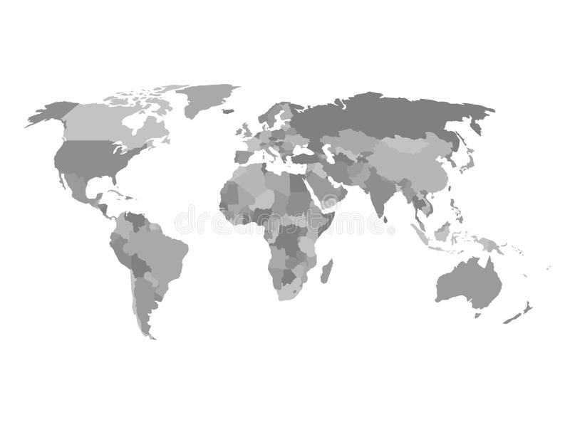 Political map of the world in shades of grey simlified flat download political map of the world in shades of grey simlified flat geographical background wallpaper gumiabroncs Image collections