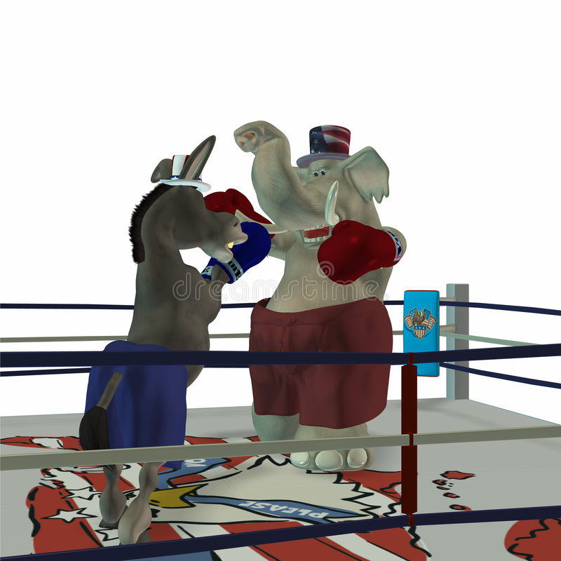 Free Political Party - Boxing 3 Royalty Free Stock Images - 568859
