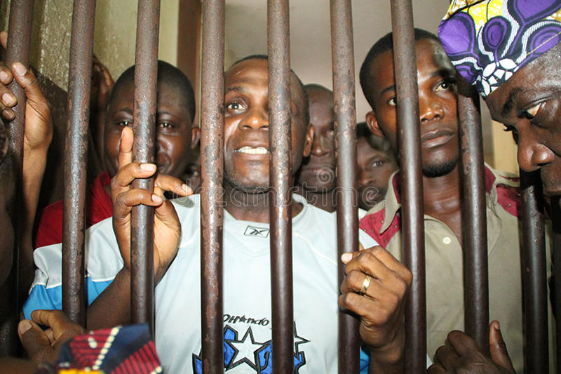 Download POLITICAL PRISONER IN IVORY COAST Editorial Stock Image - Image: 60066074