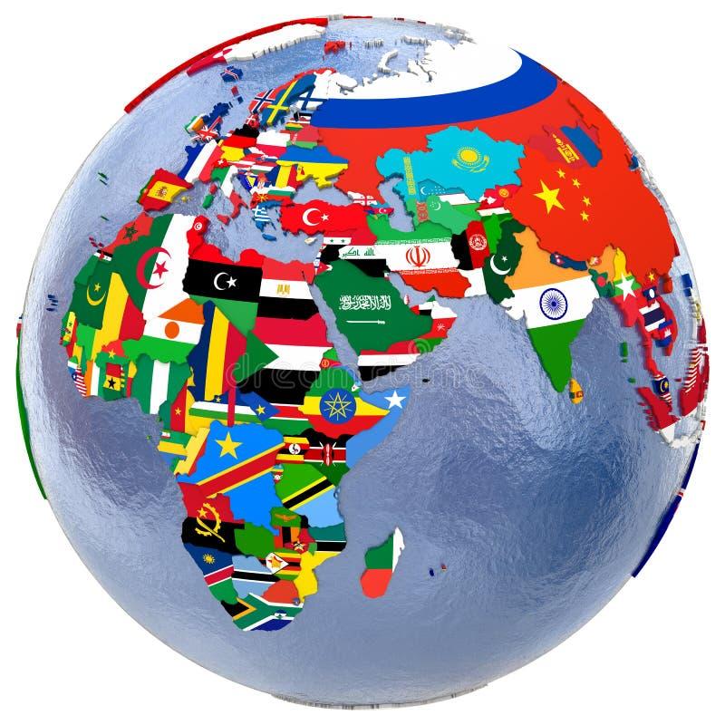 Political world map stock illustration illustration of region download political world map stock illustration illustration of region 69781926 gumiabroncs Images