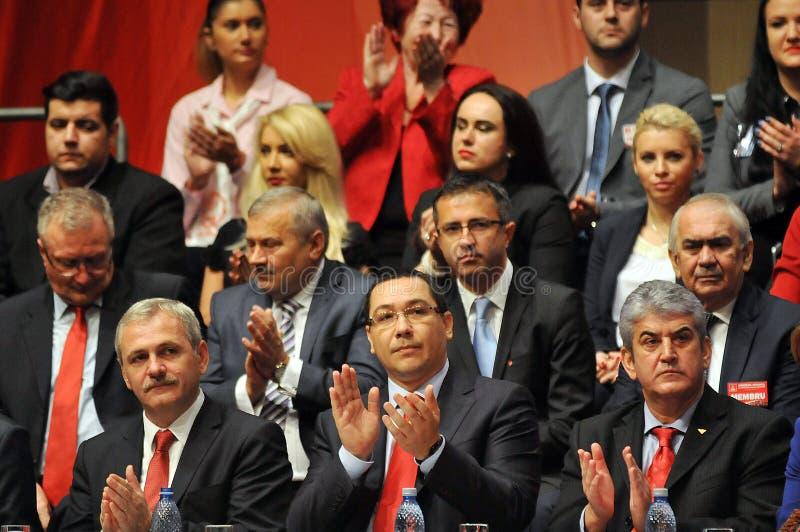 Politici più importanti rumeni immagine stock