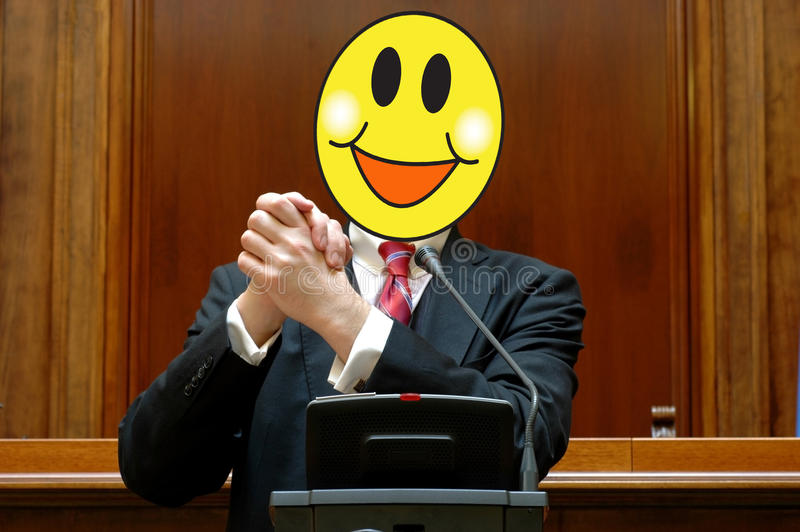 Download Politician With A Smiling Face Stock Image - Image: 18933611
