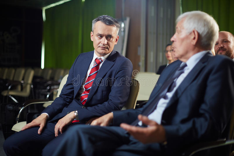 Politiciens au sommet photo libre de droits