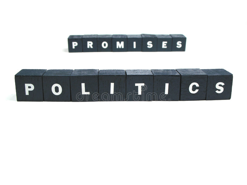 Download Politics and promises stock image. Image of voters, words - 6512385