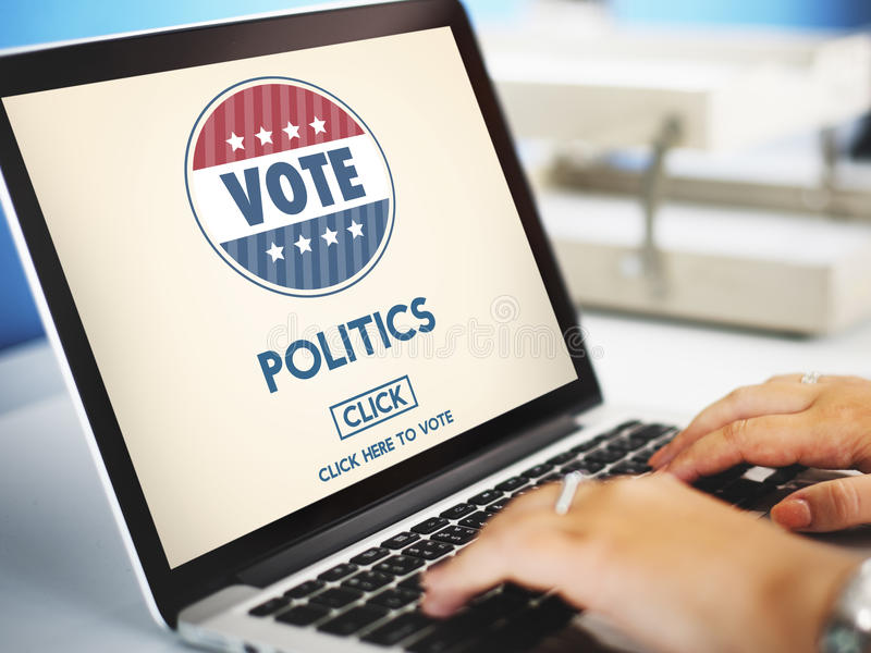 Politics Vote Election Government Party Concept stock image