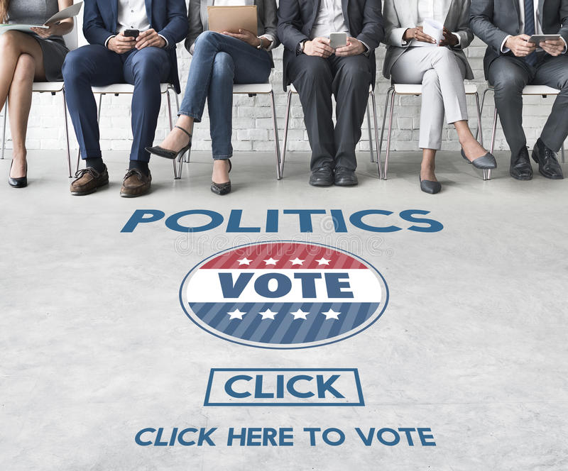 Politics Vote Election Government Party Concept royalty free stock photo