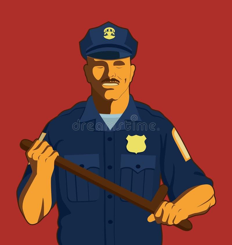 Politie vector illustratie