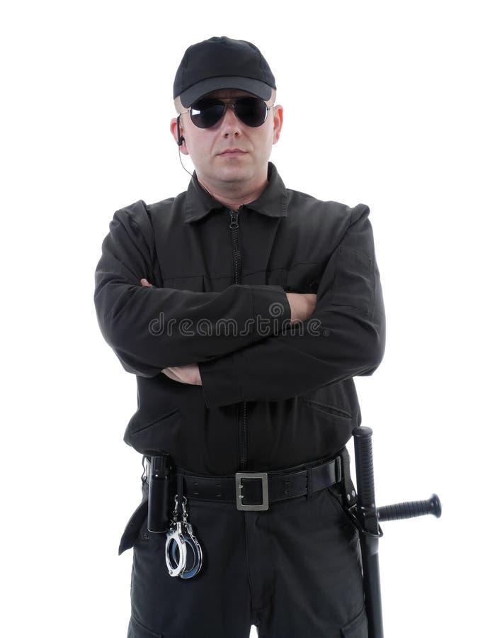 Politieagent stock fotografie
