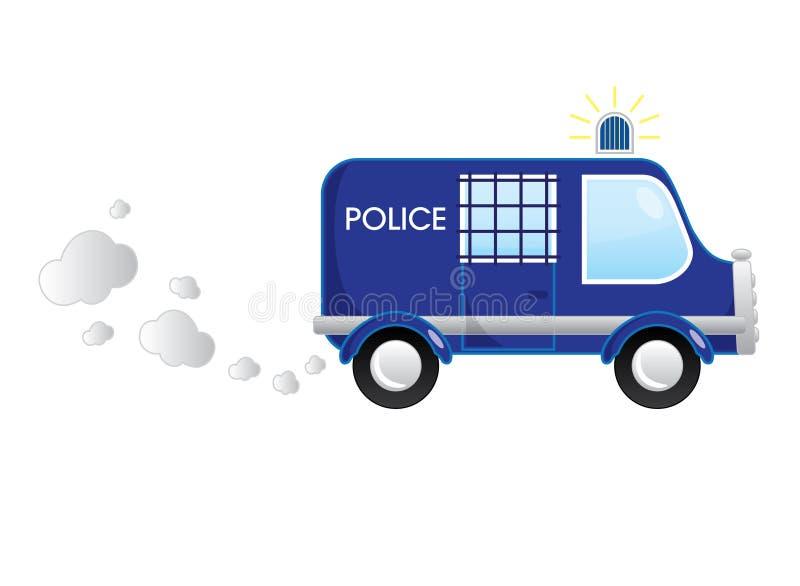 Download Politiebus vector illustratie. Illustratie bestaande uit ontwerp - 39100645