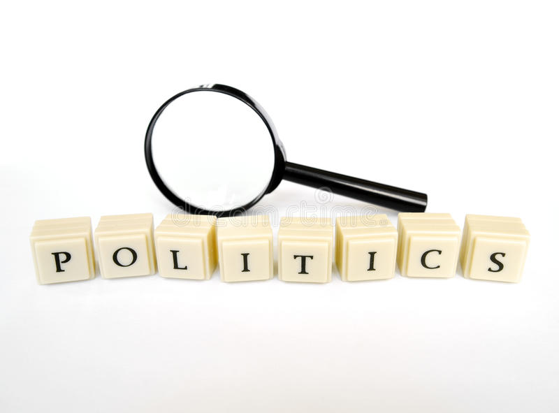 Politiek stock fotografie