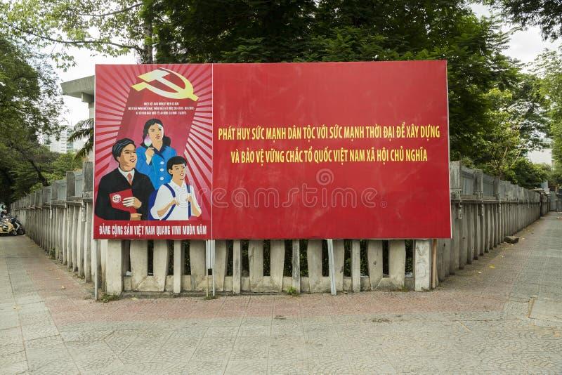 Politieke propaganda, Vietnam stock afbeelding