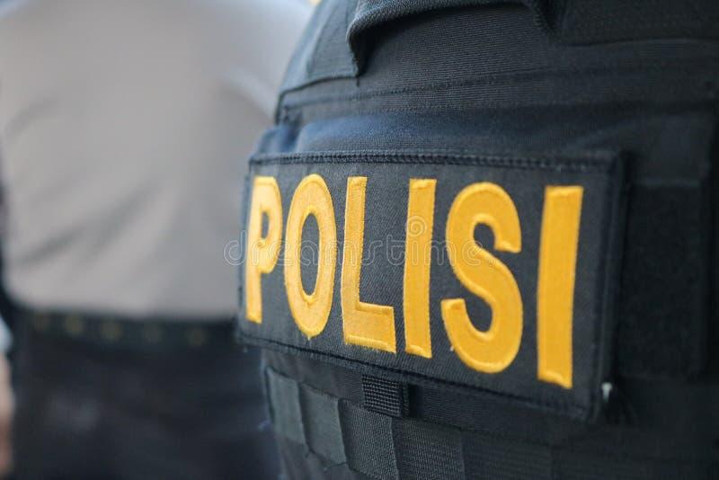 Politievest stock foto's