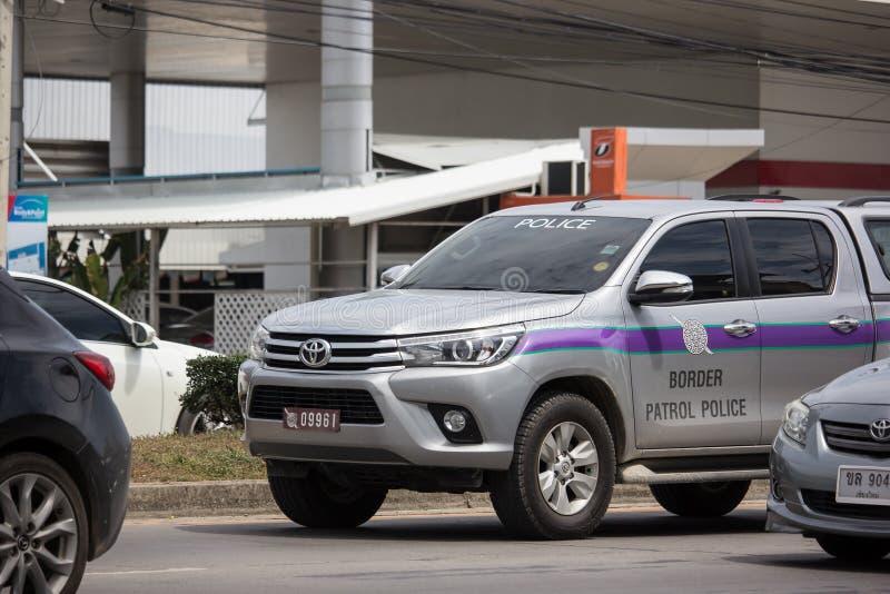 Politiewagen Koninklijke Thaise Politie stock foto's