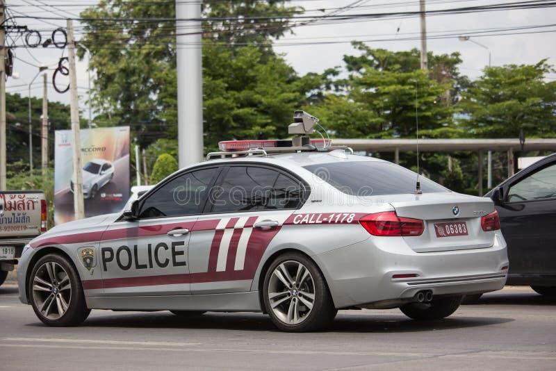 Politiewagen Koninklijke Thaise Politie royalty-vrije stock fotografie