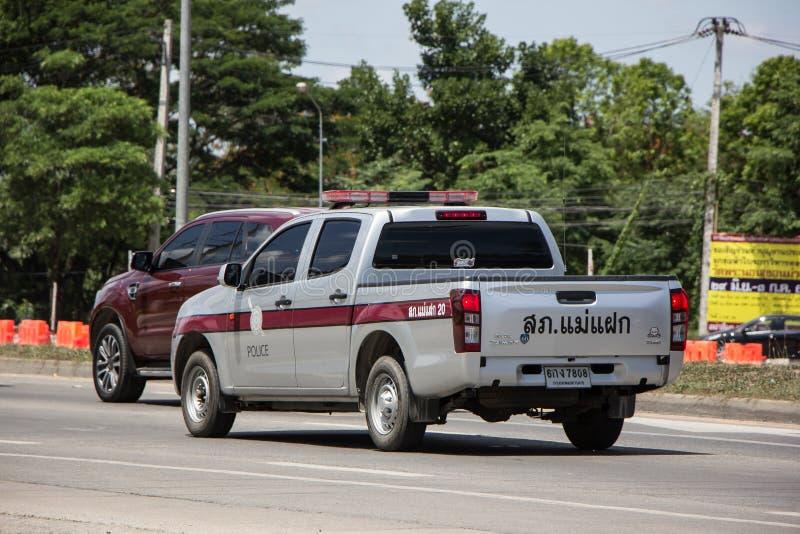 Politiewagen Koninklijke Thaise Politie stock afbeelding