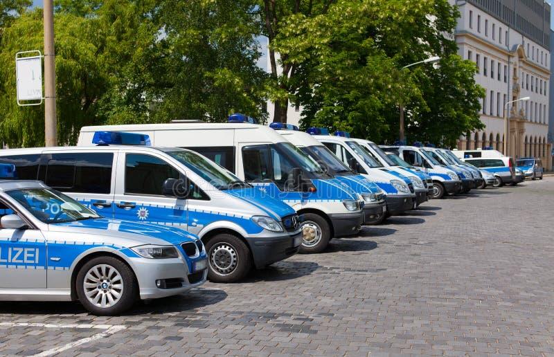 Politiewagens stock fotografie