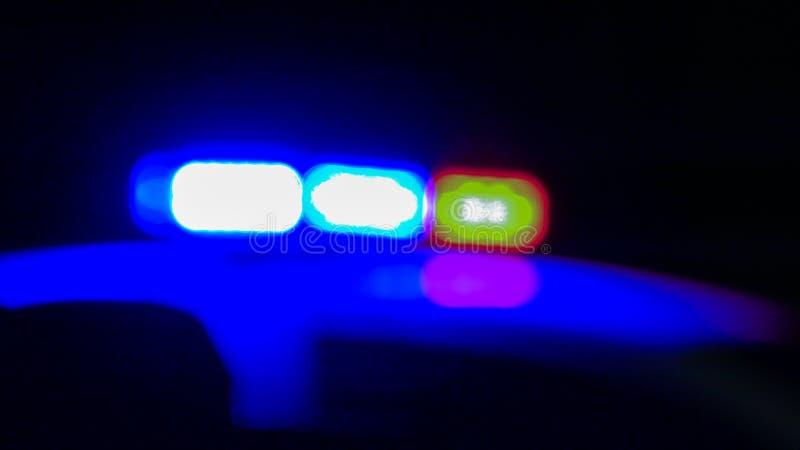 Politiewagensirene stock afbeelding