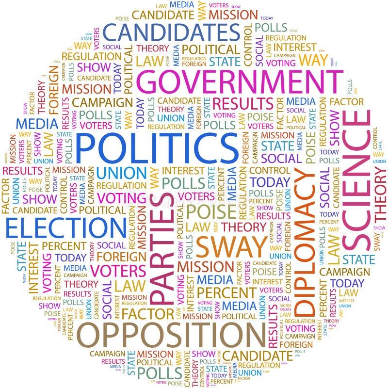 POLITIK. stock abbildung