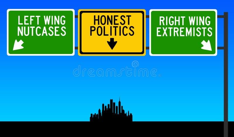 politik royaltyfri illustrationer