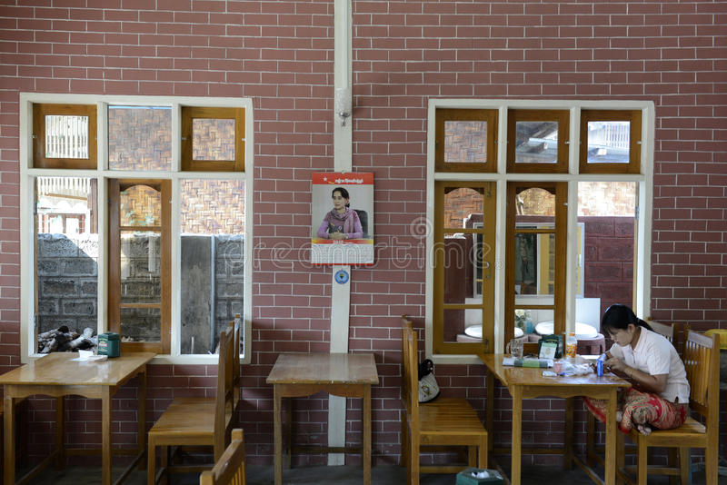 POLITIK ASIENS MYANMAR NYAUNGSHWE lizenzfreie stockbilder