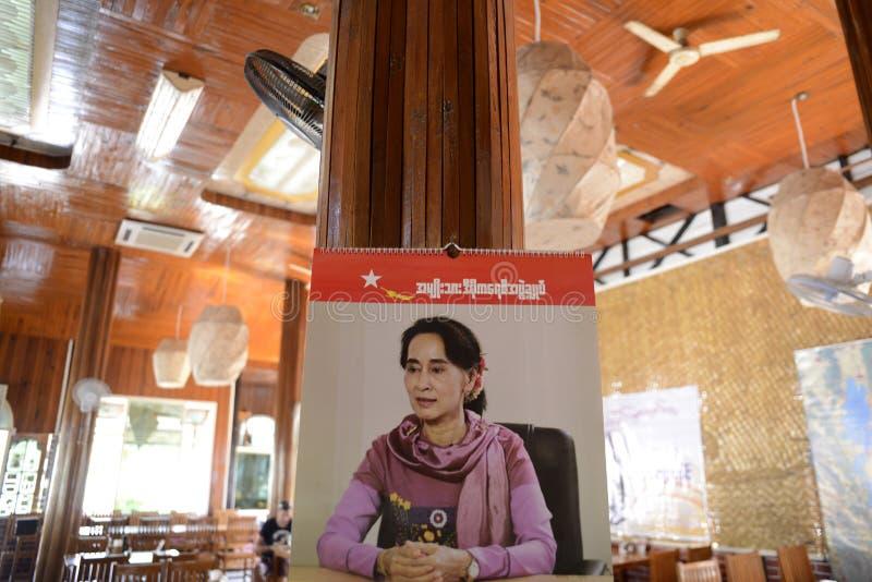 POLITIK ASIENS MYANMAR NYAUNGSHWE lizenzfreies stockfoto