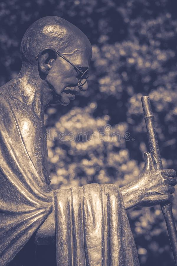 Politique indien et leader spirituel Mahatma Gandhi photos libres de droits
