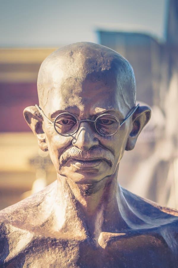 Politique indien et leader spirituel Mahatma Gandhi photo stock