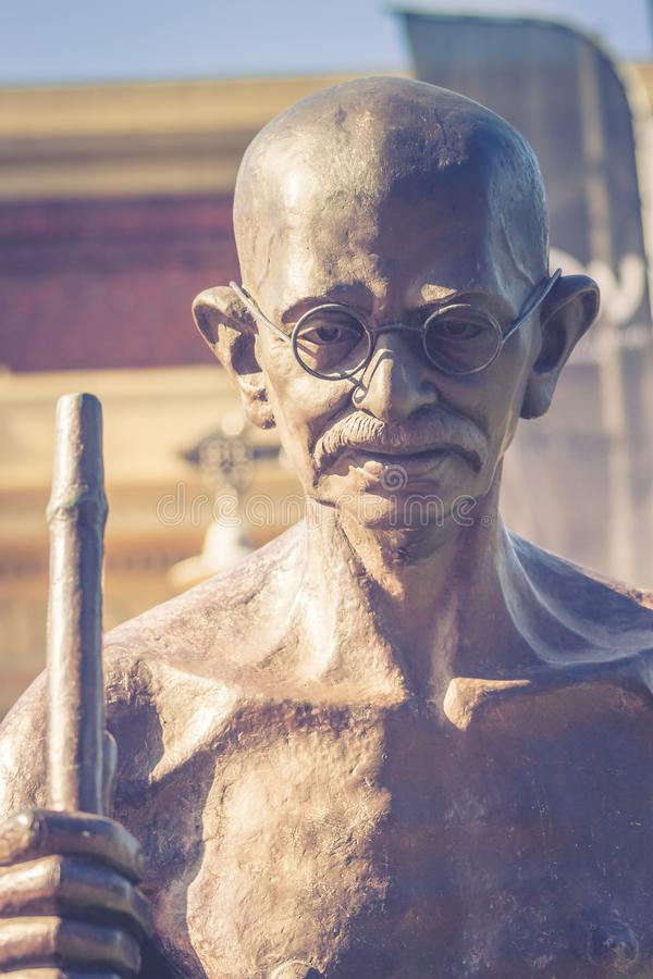 Politique indien et leader spirituel Mahatma Gandhi photo libre de droits