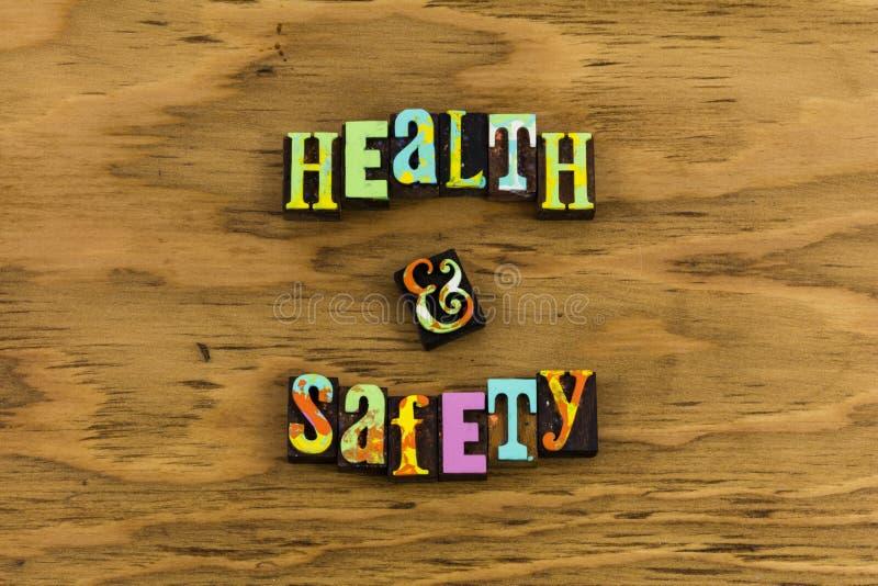 Politique saine de sécurité de santé photographie stock libre de droits