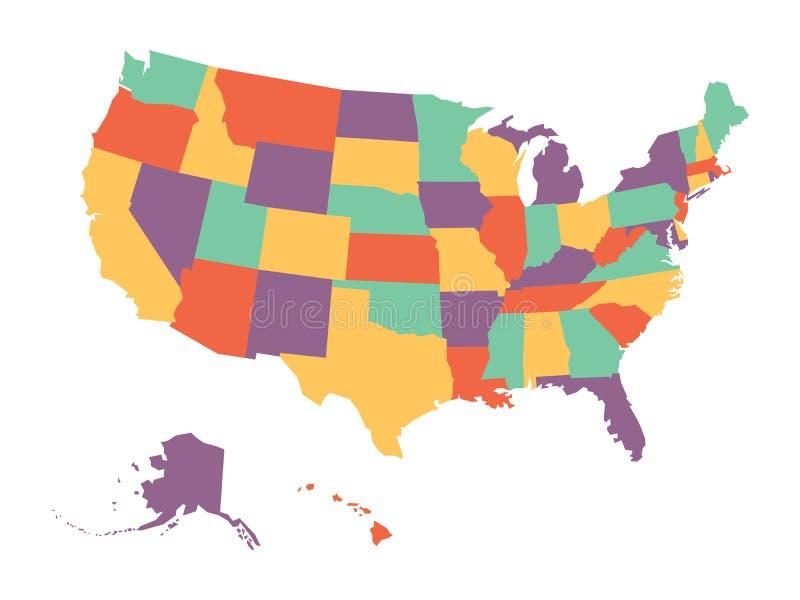 Groß Malvorlagen Der Vereinigten Staaten Karte Fotos - Framing ...