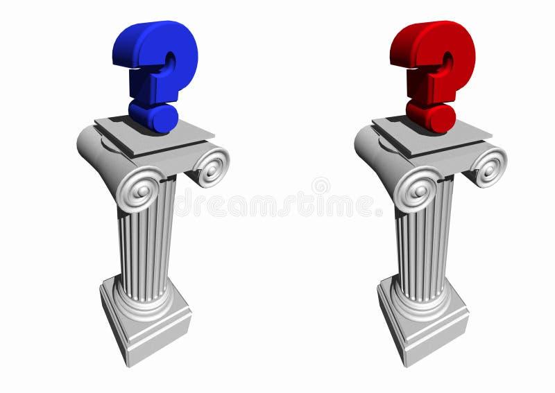 Politische Wahlen 1 stock abbildung