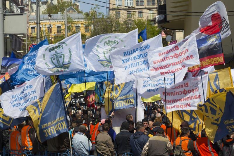 Politiska partier och oerganizations samlar på royaltyfri foto